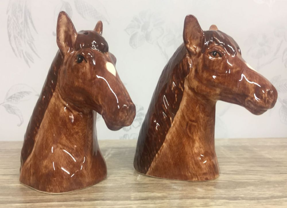 Horse Salt & Pepper Shaker Horses Cruet Set